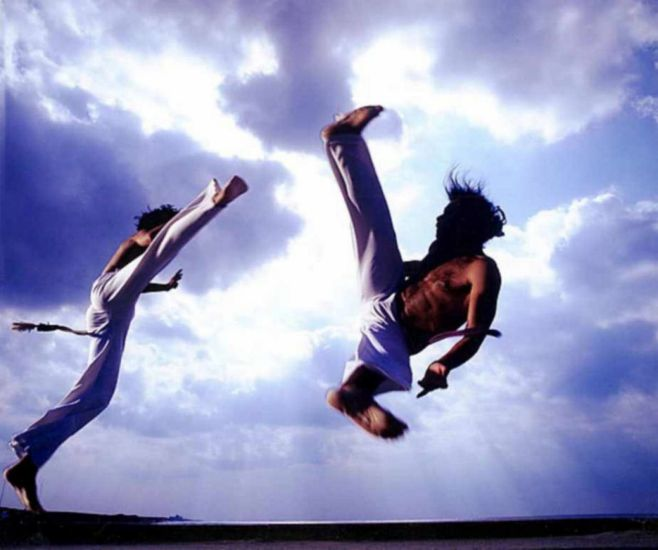 je fais un blog sur la capoeira