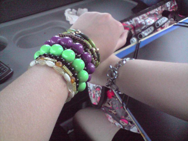 Le bras de mon maître et le miens x)