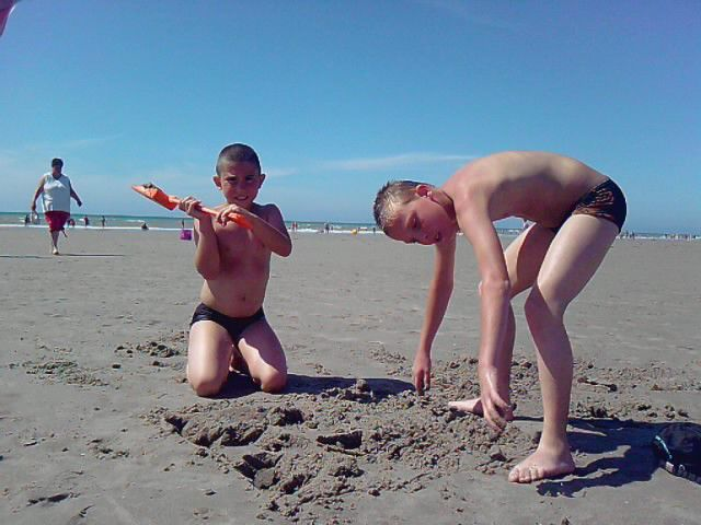 mes enfants a la mer