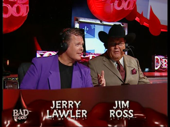 Jerry Lawler & Jim Ross