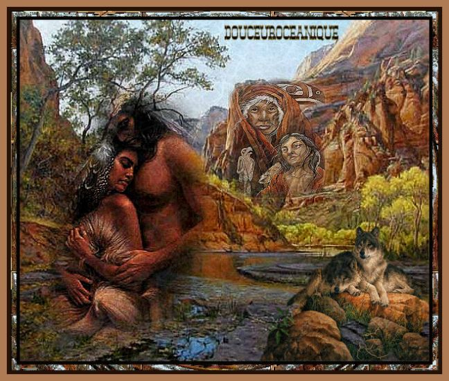 couple amerindiens