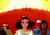 Pocahontas princesse des Indiens