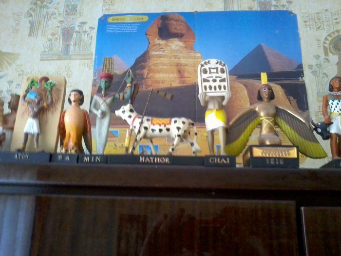 mon salon egyptien