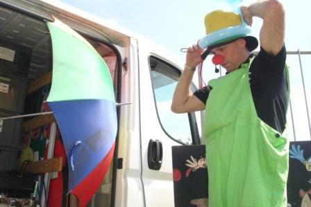 Clown de 0 à 35°