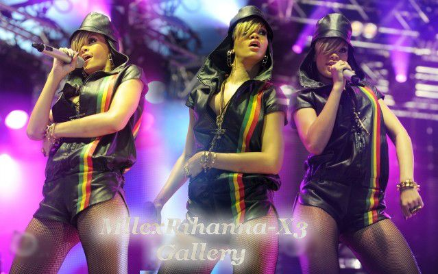 Rihanna au Radio 1's Big Weekend .