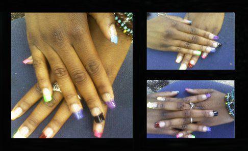 nails multicolore