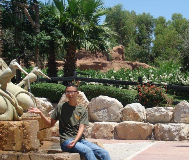 moi a Hammamet  (tunisie)