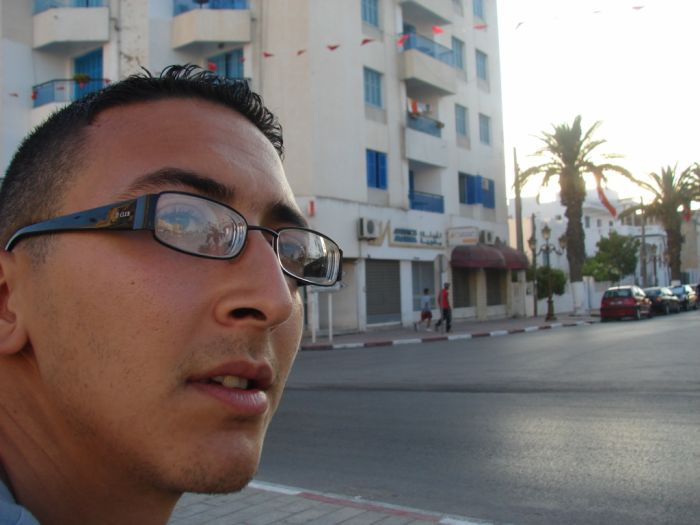 moi a La Goulette  (tunisie)
