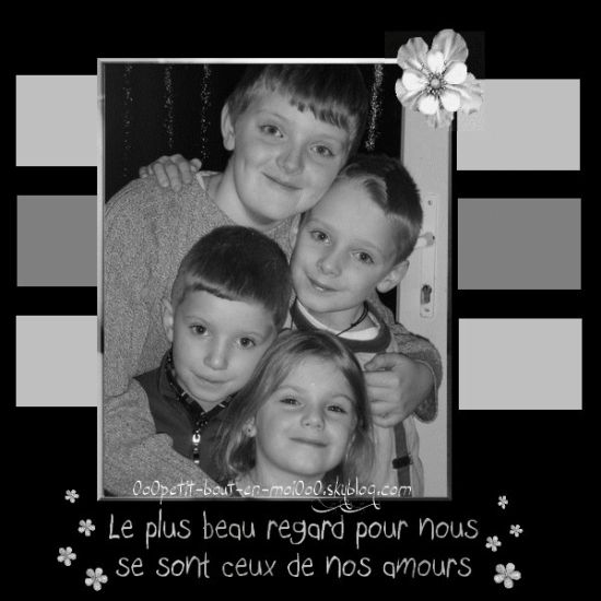 Mes 4 grands amours ...