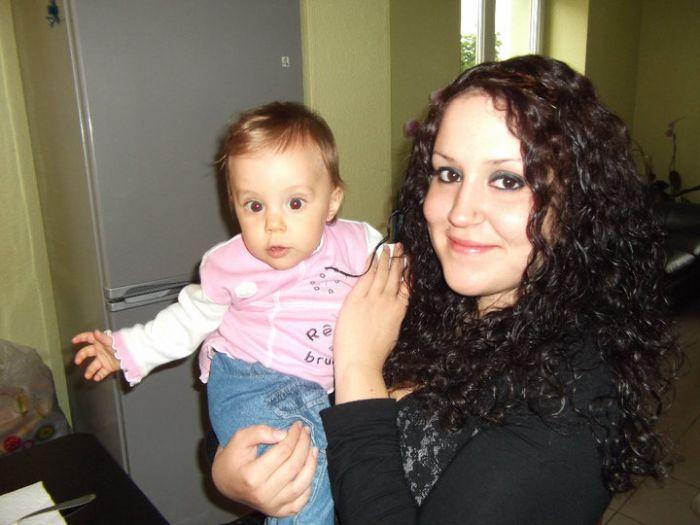 Ma filleule et moi =)