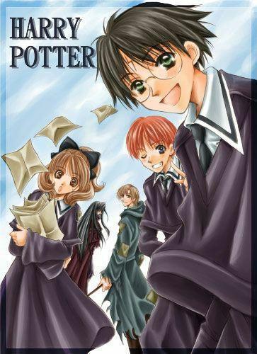 Harry, Hermione et Ron