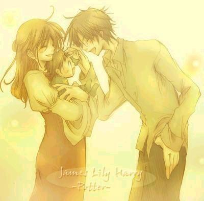 Lily, Harry et James