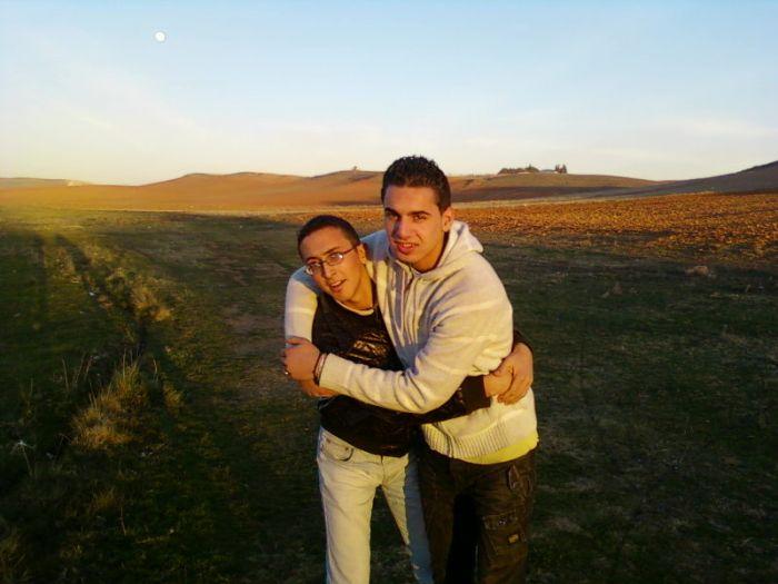 moi et djamel a19