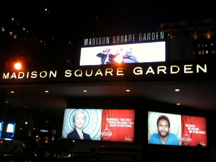 Le Madison Square Garden (où Michael a fait un concert le 10