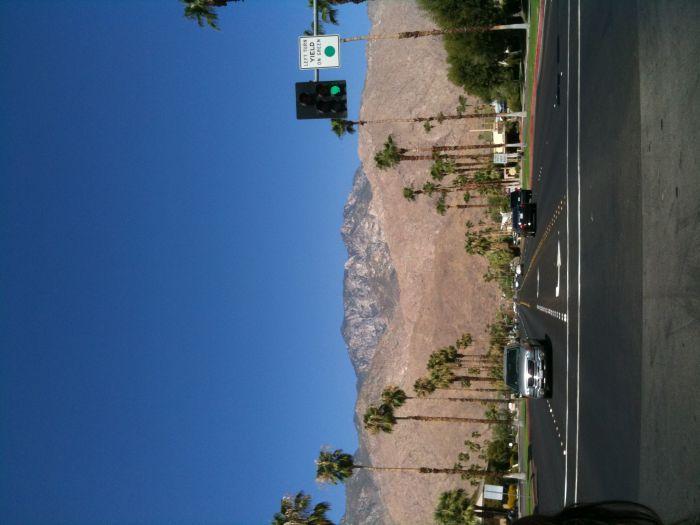 Palm Springs, une ville près de LA. C'est une ville parfaite