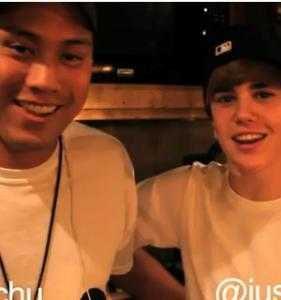John Chu et Justin Bieber