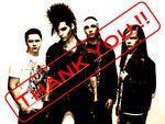 Merci à vous Tokio Hotel !