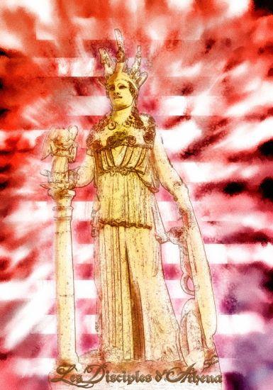 Athéna Statue
