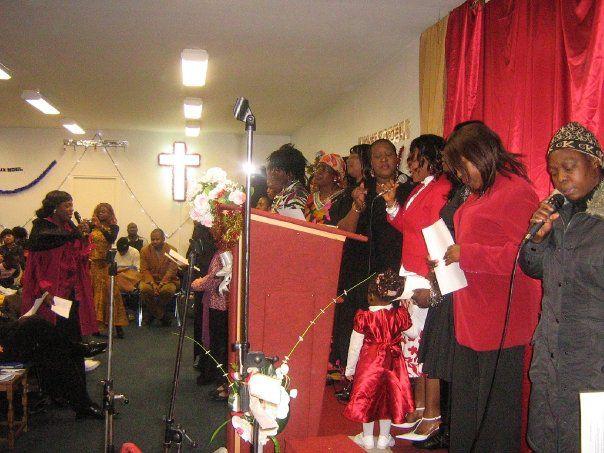 pendant le fin d'année l'Eglise Béthel en fête