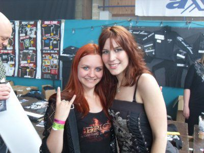 me and Charlotte ( delain )