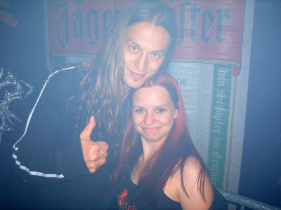 me and Mark ( epica ) vive ma tete !!!! lol