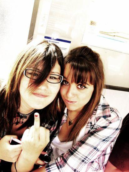 Ma pote Agata & Moi