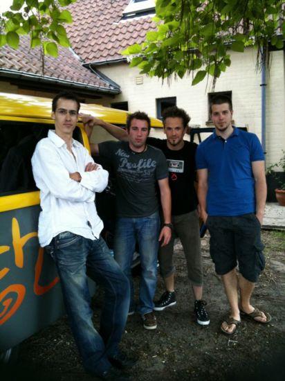 L'Arrach'Team au départ ;)