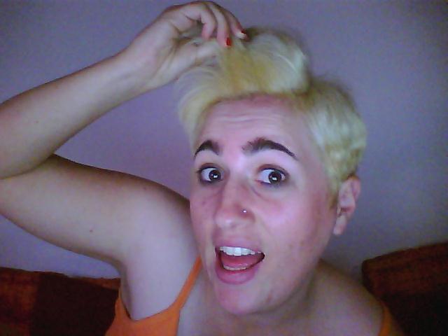 si j'étais blonde...