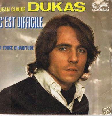 mon deuxième 45 tours sous le pseudo de J.C. DUKAS