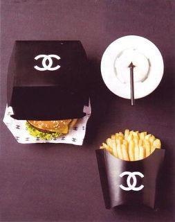 Fast food Chanel .