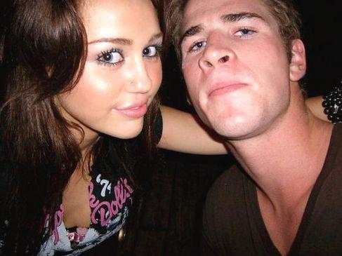Photo Personnelle de Miley avec son boysfriends Liam !