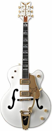 La White Falcon, ma nouvelle guitare
