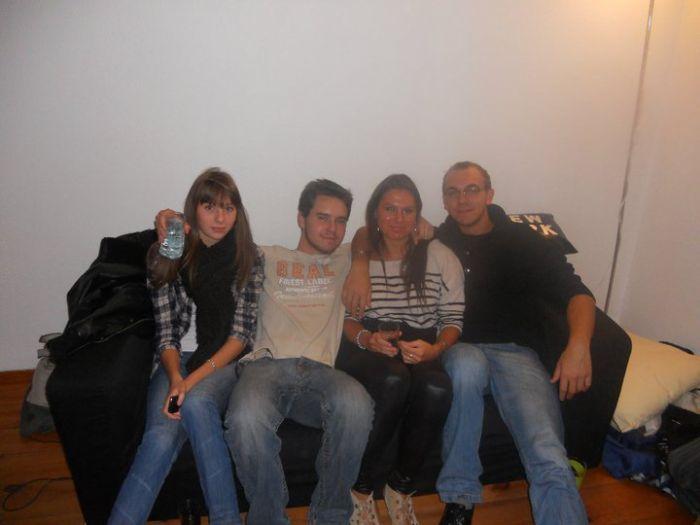 Caroline, Gauthier, Mary et Mickaël