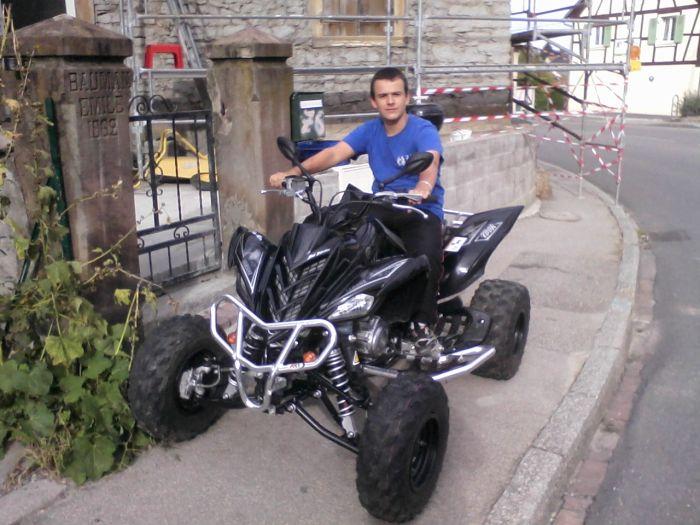 moi et mon quad