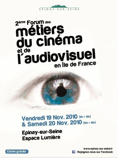 2e Forum des Métiers du Cinéma et de l'Audiovisuel