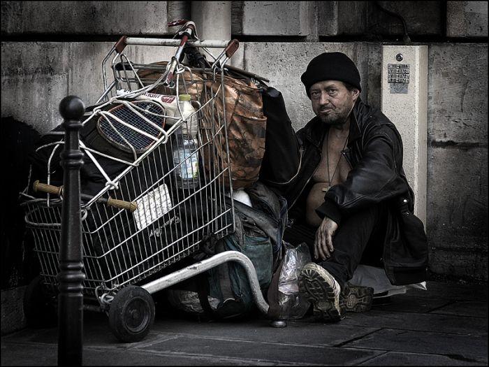 sans domicile fixe à Paris - Eric Pouhier