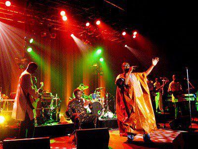 Youssou N'dour en concert