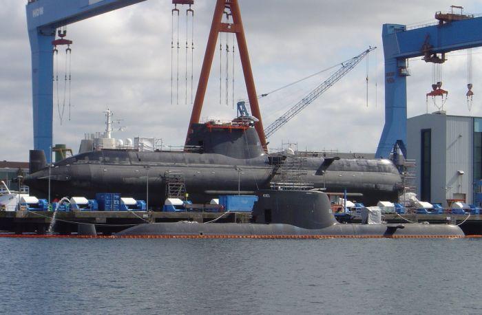 Submarin Class 214 a Capacité nucleaire