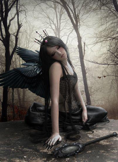 Une fée, juste brisé..
