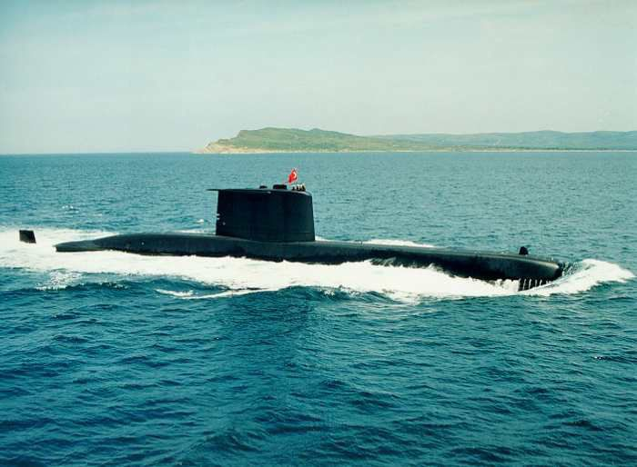 Submarin class 209 a Capacite nucleaire