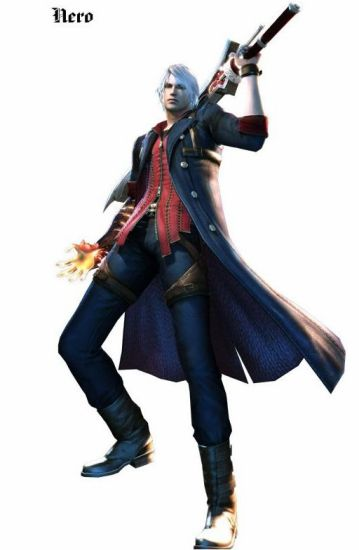 Nero from devil may cry 4