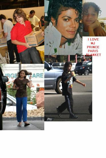 Paris,Blanket,Prince ans Michael I LOVE YOU