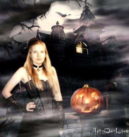 Art-On-Line versus halloween