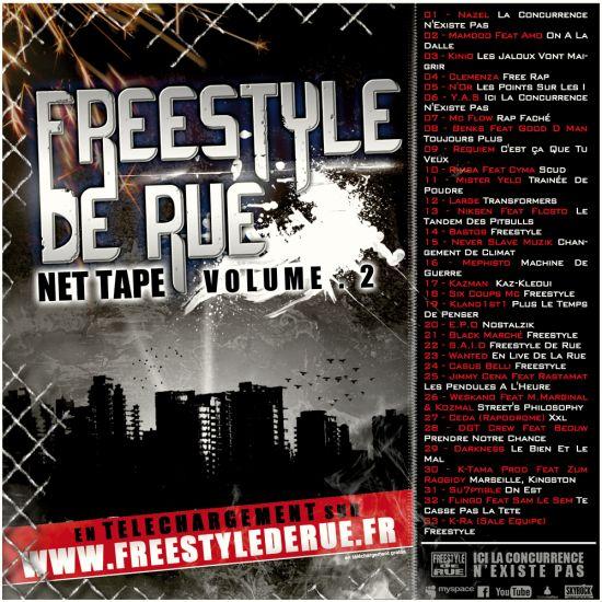 Freestyle De Rue Vol.2 - Nazel [La Concurrence N'Existe Pas]