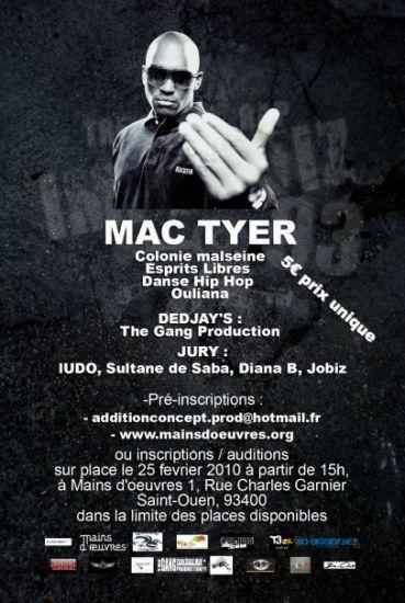 "Affiche Tremplin ""IMPROVIZ'93"" + Mac Tyer !!!"