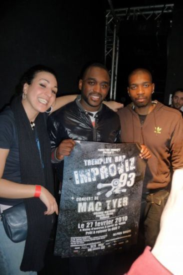 Mac Tyer & le staff