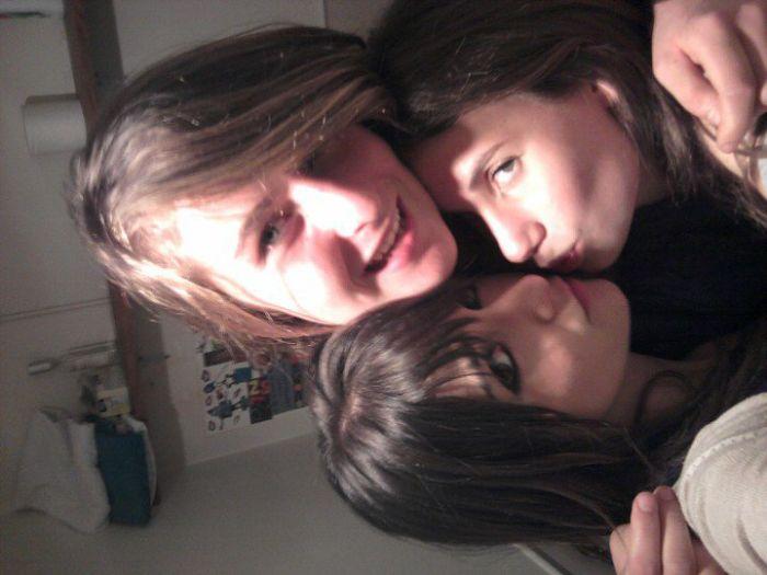Priscille moi et Sara