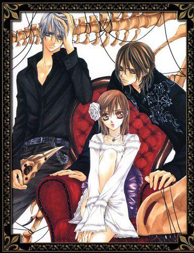 N°2 Vampire Knight manga de Matsuri Hino