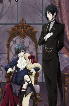 N°3 Black Butler manga de Yana Toboso