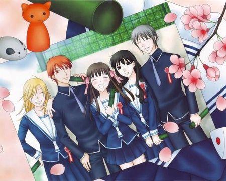 N°5 Fruits BAsket manga de Natsuki Takaya